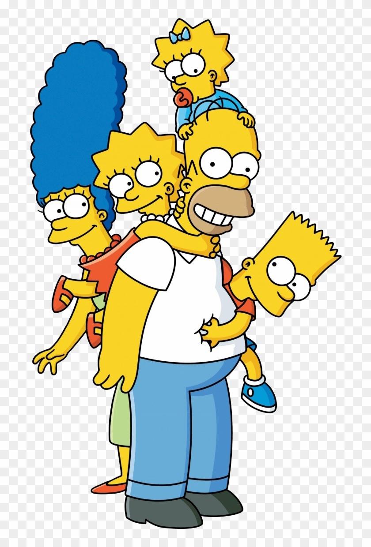Homer Simpson Marge Simpson Lisa Simpson Bart Simpson