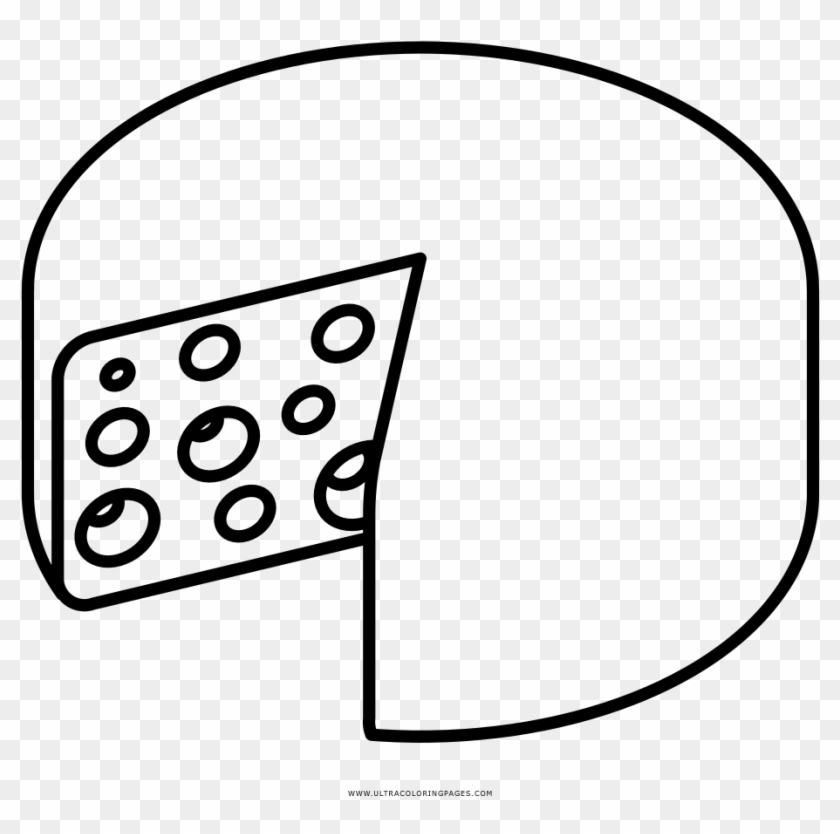 Cheese With Holes Coloring Page Disegni Da Colorare