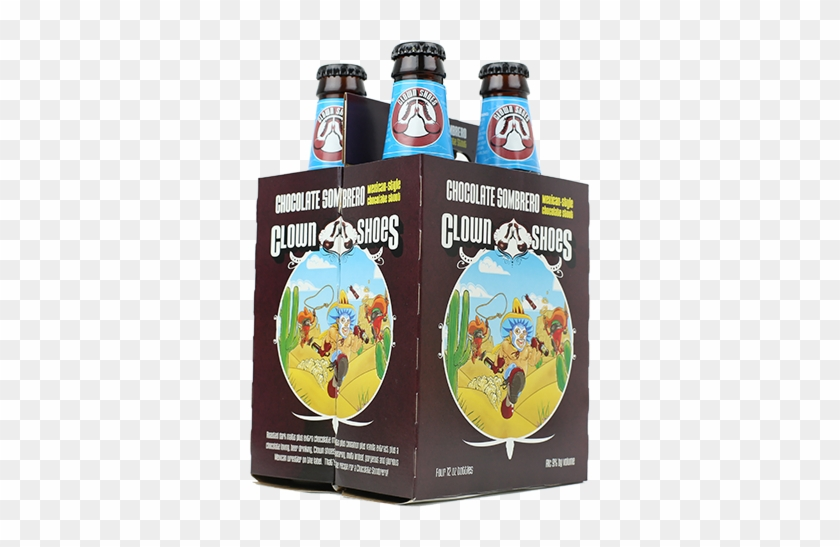 Clown Shoes Chocolate Sombrero Mexican Imperial Stout - Beer Bottle #942436