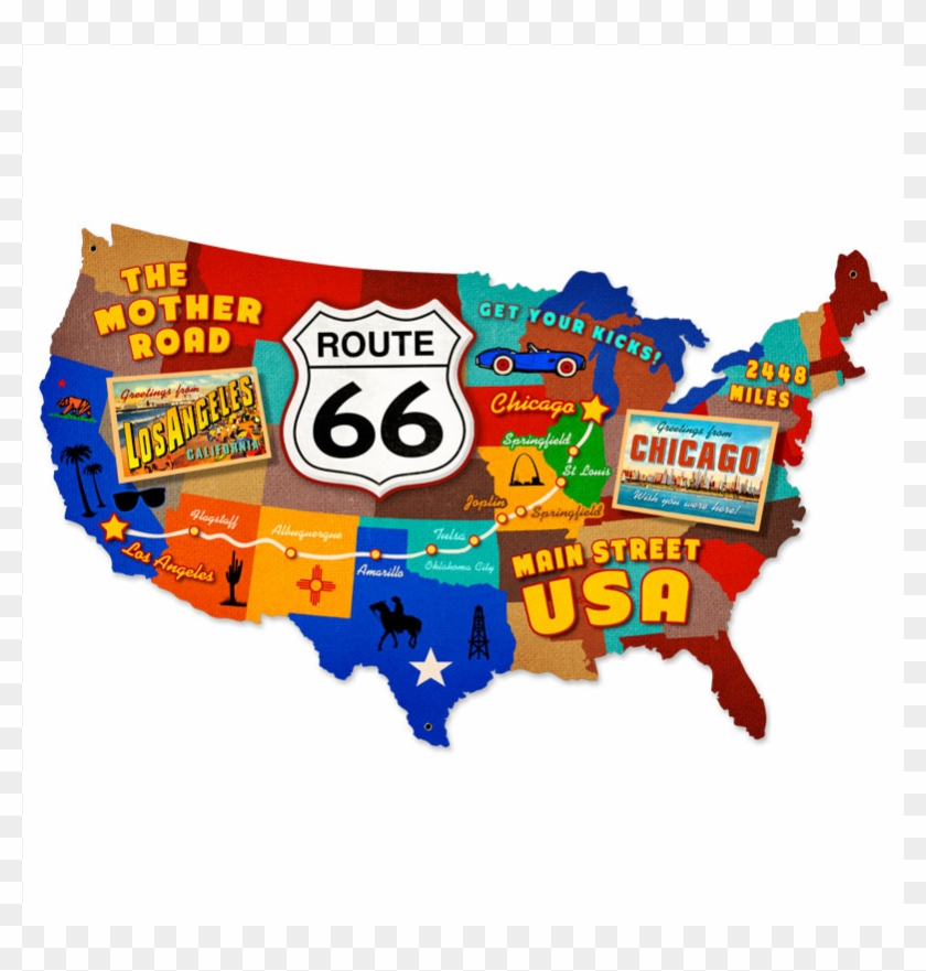 Route 66 Usa Map.Oklahoma Travel Planner Images Filemap Of Usa With Usa Map Route