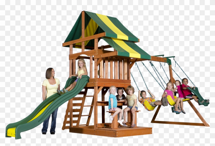 Backyard Discovery Swing Set Parts - Backyard Discovery Independence All Cedar Playset #944013