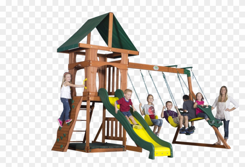 Santa Fe - Backyard Discovery Santa Fe Swing Set #944111