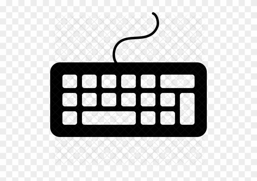 Keyboard Icon - Computer Keyboard #944486