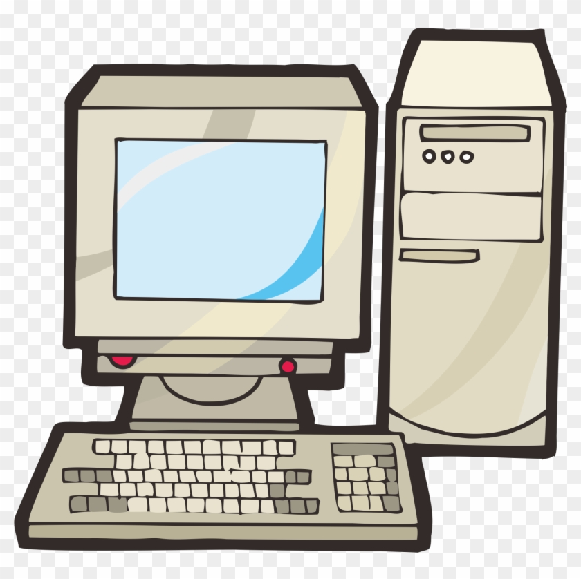 Personal Computer Computer Keyboard Drawing Computer Drawing Free Transparent Png Clipart Images Download
