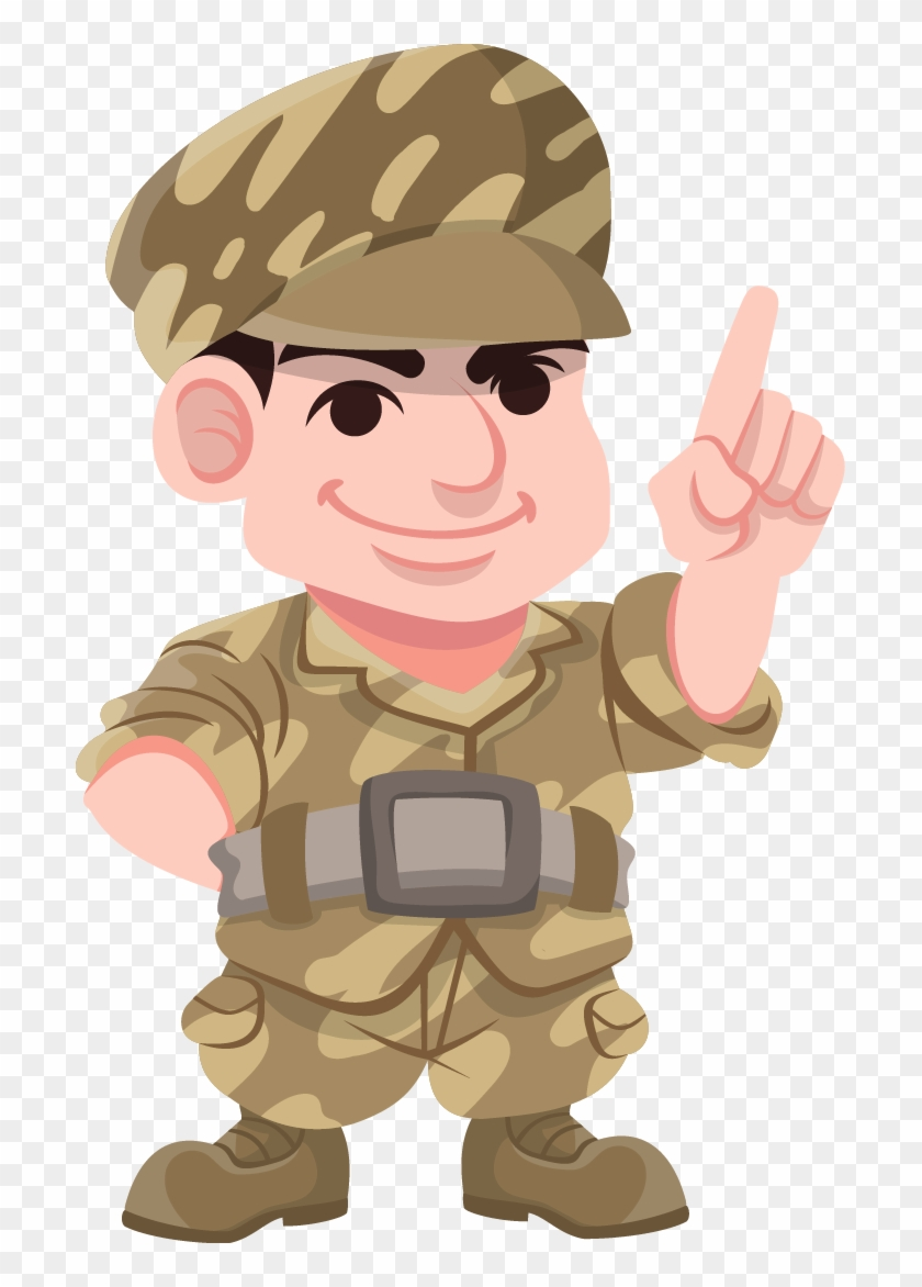 Soldier Free To Use Clip Art - Military Animated Characters #944788