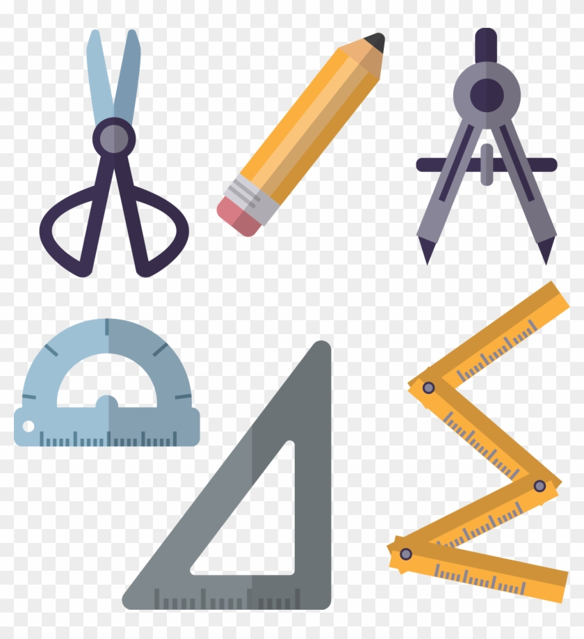 Architecture Drawing Tool - Engineer Tools Vector - Free