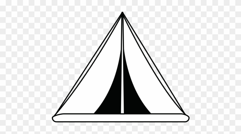 Clipart Tent Tee Pee - Tipi Clip Art Black And White , Free Transparent  Clipart - ClipartKey