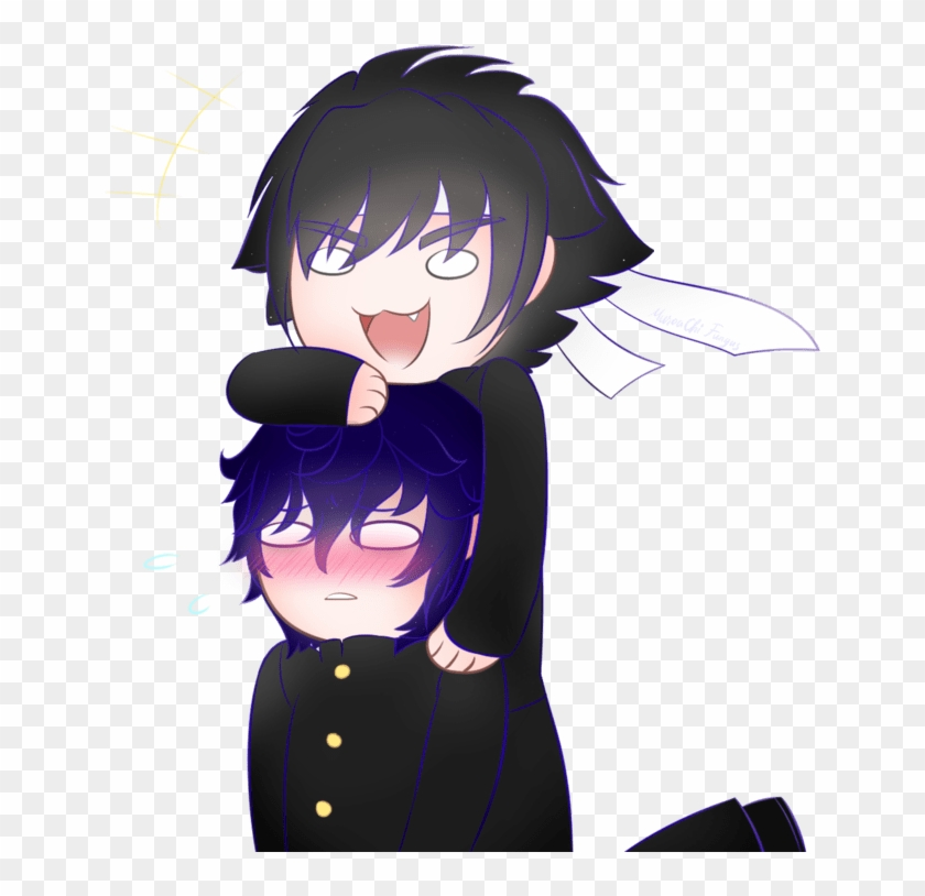 Yandere Simulator Budo And Shin - Free Transparent PNG Clipart