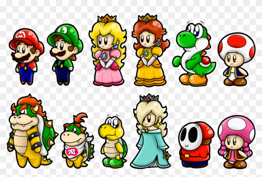 Full Size Of Drawing Mario Characters Free Transparent Png
