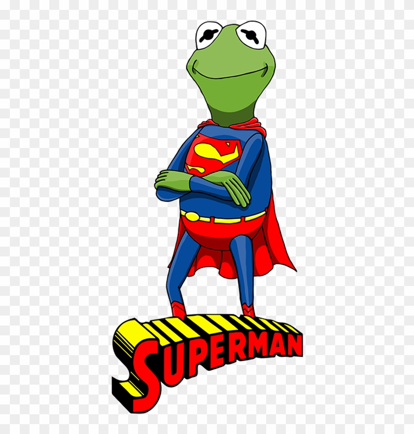 The Muppets As Justice League Characters - Kermit The
