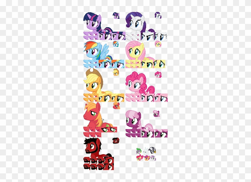 Deffect Clip Art Vector Graphics - 16 Bit Sprite Template