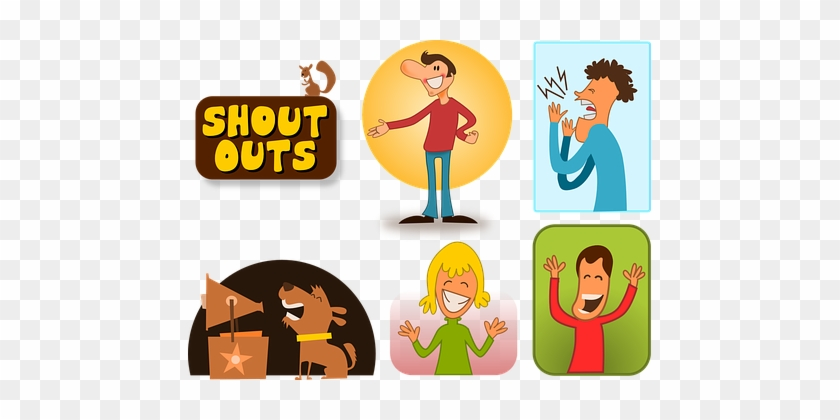 92 Free Images, Illustrations, Vector Graphics - Shout Out Clip Art #946689