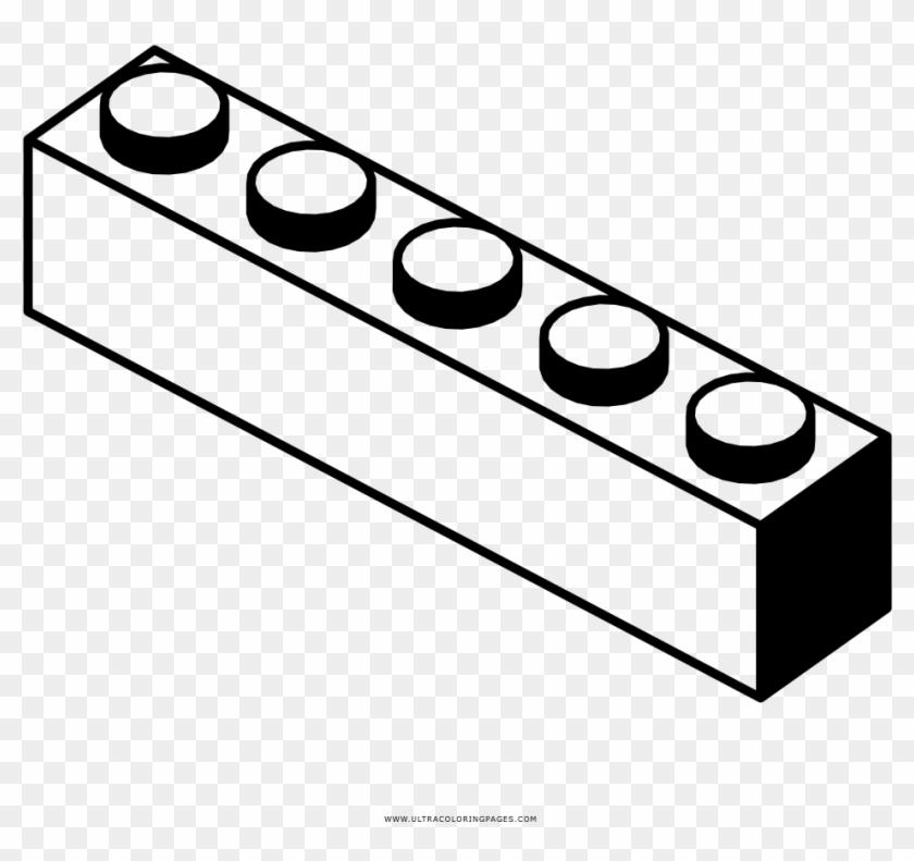 lego bricks coloring page - 840×791