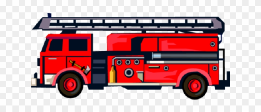 Fire Engine Clipart - Fire Truck Clipart Free #947393