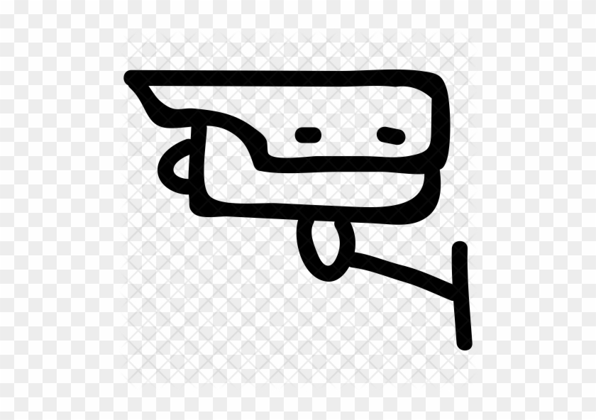 Cctv Camera Icon - Security - Free Transparent PNG Clipart