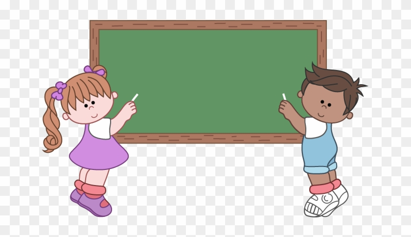 Clipart Of Children At School - Welcome To Our School Png #947847
