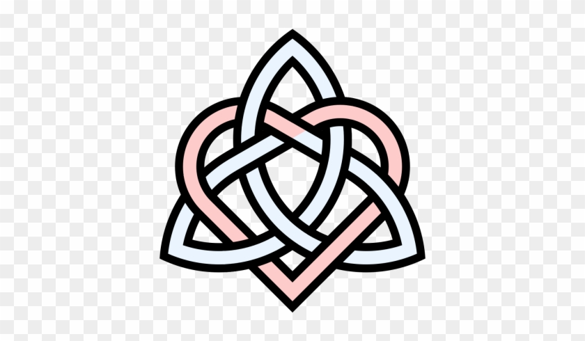 Triquetra Heart Knot Png Photo Png Images Symbol Brother And