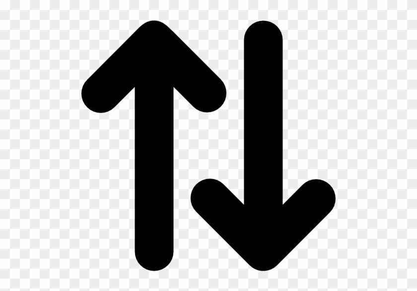Up And Down Opposite Double Arrows Side By Side Free Up And Down