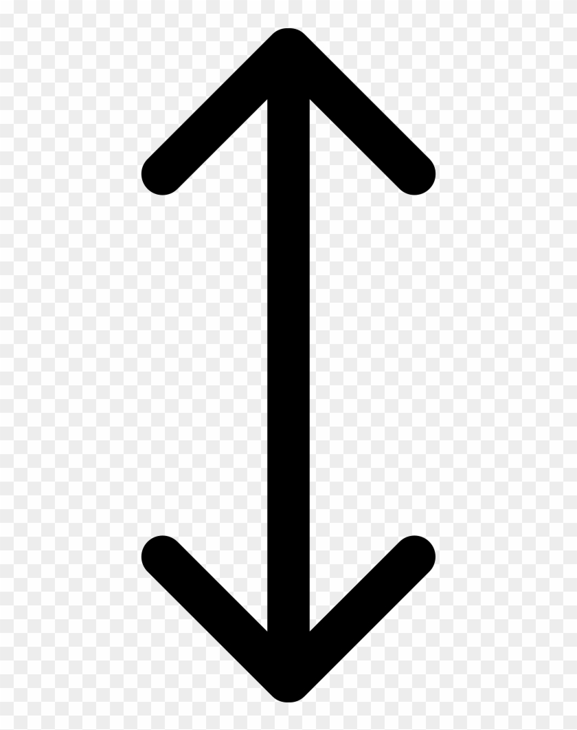Double Arrow Vertical Symbol Comments General Dynamics Annual Report Free Transparent Png Clipart Images Download