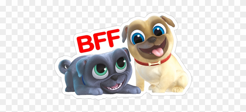 Sticker 13 From Collection Puppy Dog Pals Stiker Puppy Dog Pals