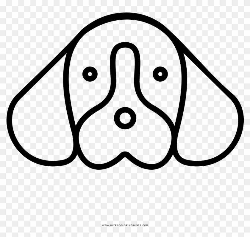 Dibujo De Cara De Perro Para Colorear Cara De Perro Dibujo Free