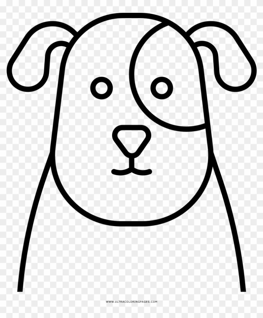 Dibujo De Cara De Perro Para Colorear Desenho De Cara Um Cachorro