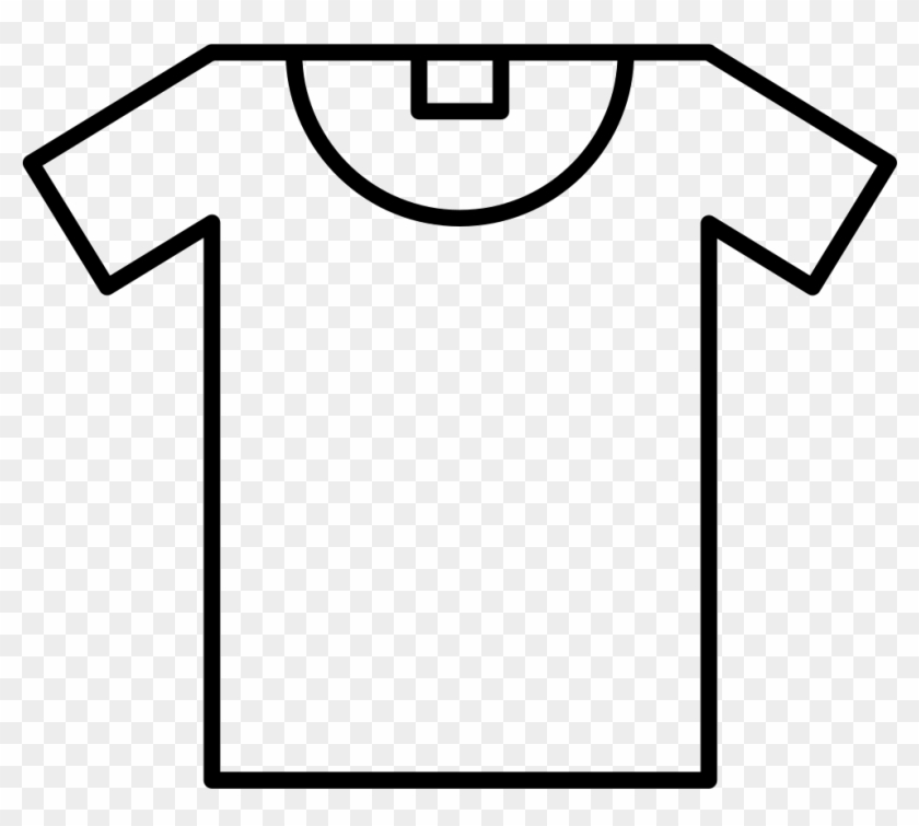 T-shirt Outline Comments - Sport Jersey Template Printable