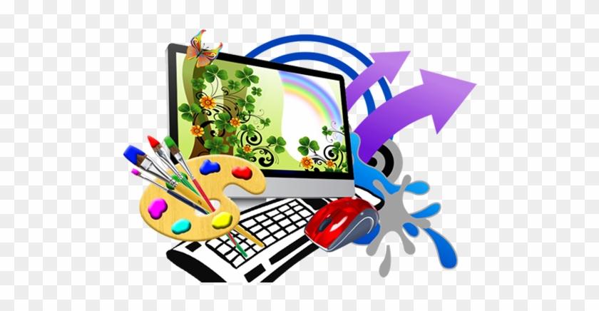Web Development Graphic Design Web Design Logo - Computer Graphic Design Logo #951640