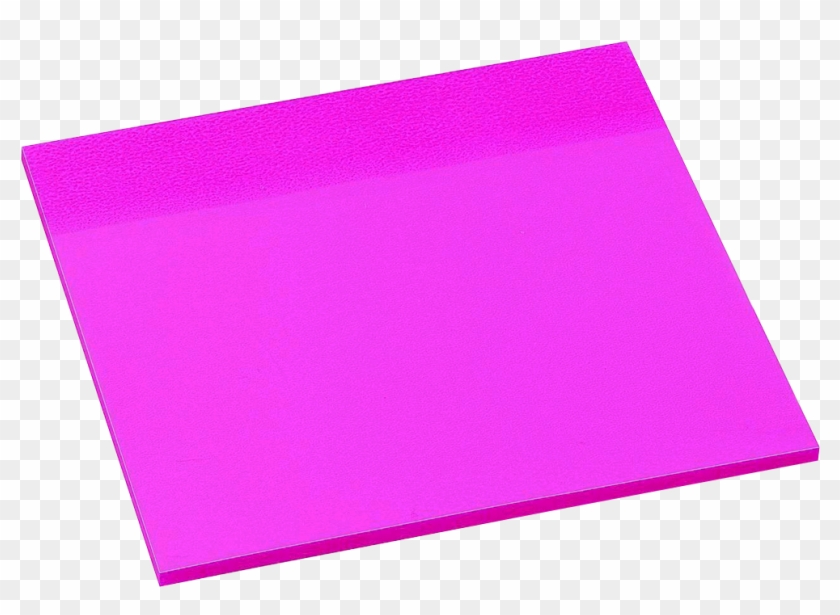 Avery See Through Sticky Note Pad - Construction Paper #169729