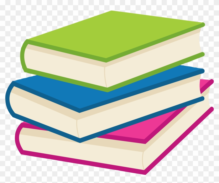 Big Image - Clipart Stack Of Books #169732