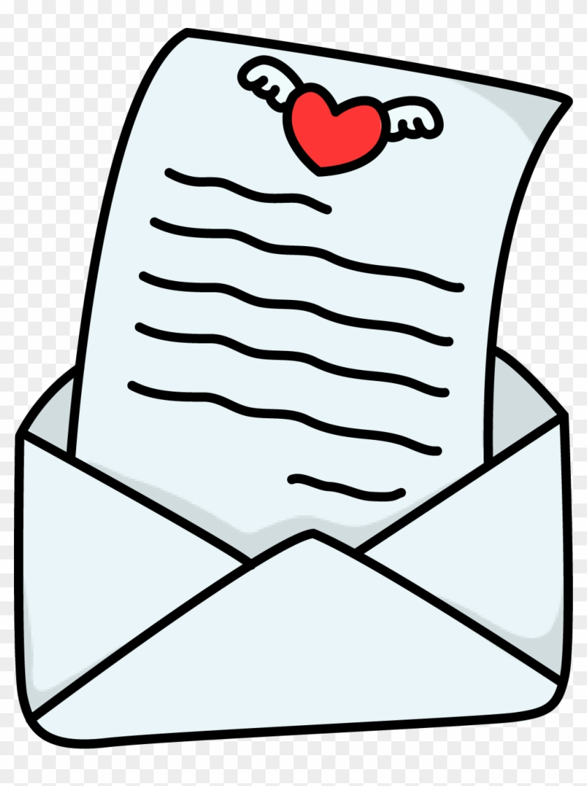 clip arts related to - love letter clipart - free transparent png