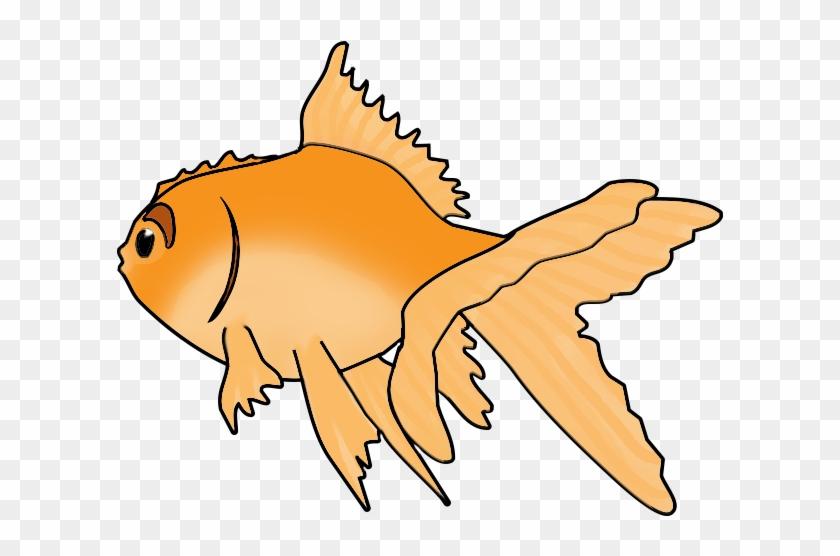 Blue Green Fish, Goldfish Clip Art - Goldfish #170013