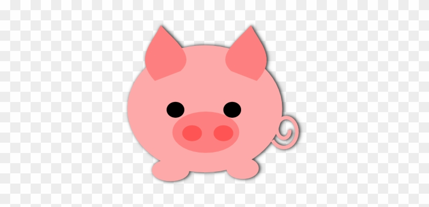 Free Printable Planner Stickers And Scrapbooking Papers - Cute Pig Clipart #170057