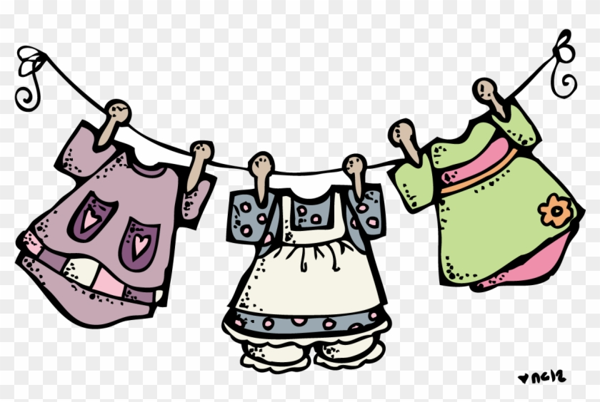 Cute Clothes Clipart Black And White - Melonheadz Baby