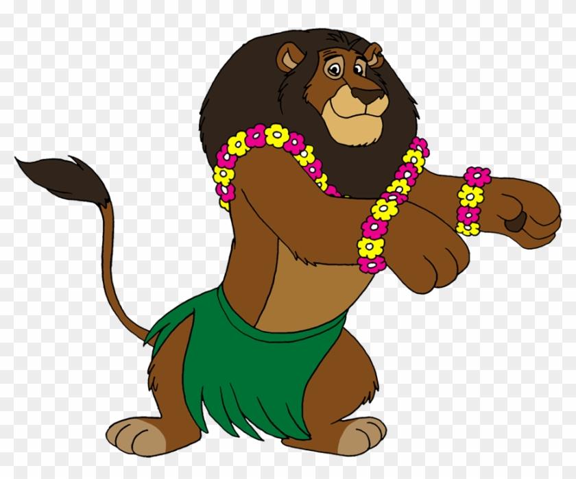 Hula Alex By Lionkingrulez On Clipart Library - Madagascar 2 Zuba The Lion #170388