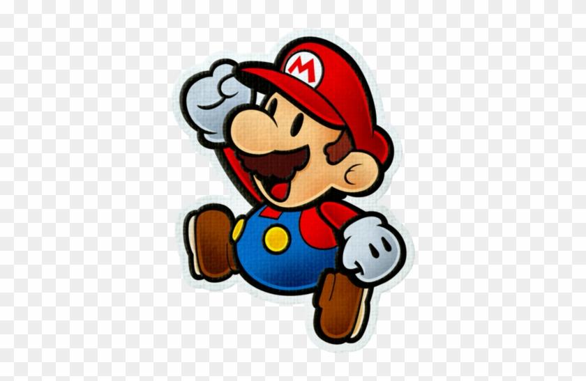 Mario On Graph Paper - Paper Mario Color Splash Mario #170510