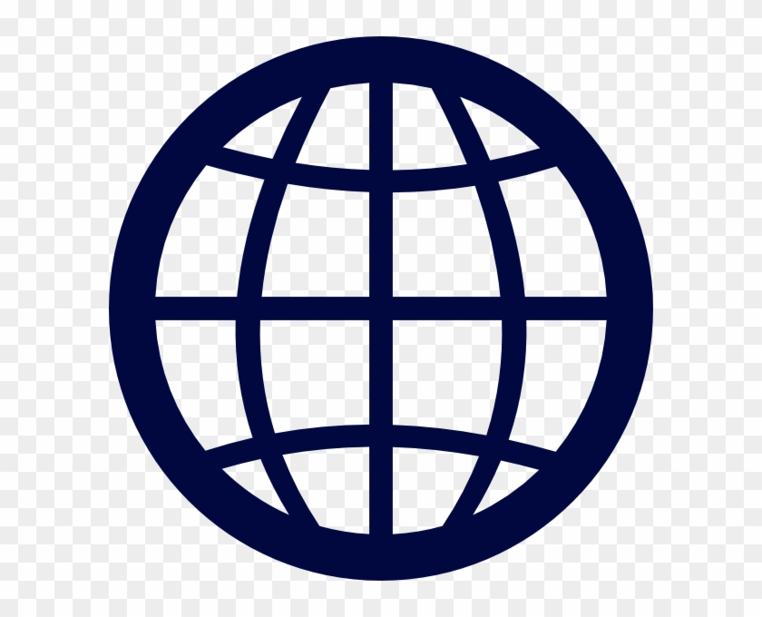 Globe Grid Clipart - Global Callcenter Solutions Logo #170524