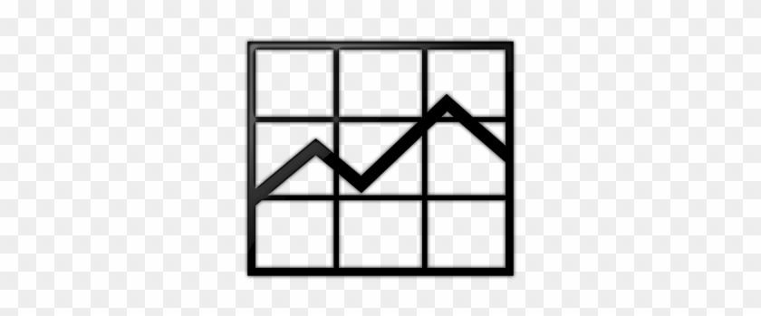 Business Line Graph Icon Clipart - Increase Website Traffic Png #170534