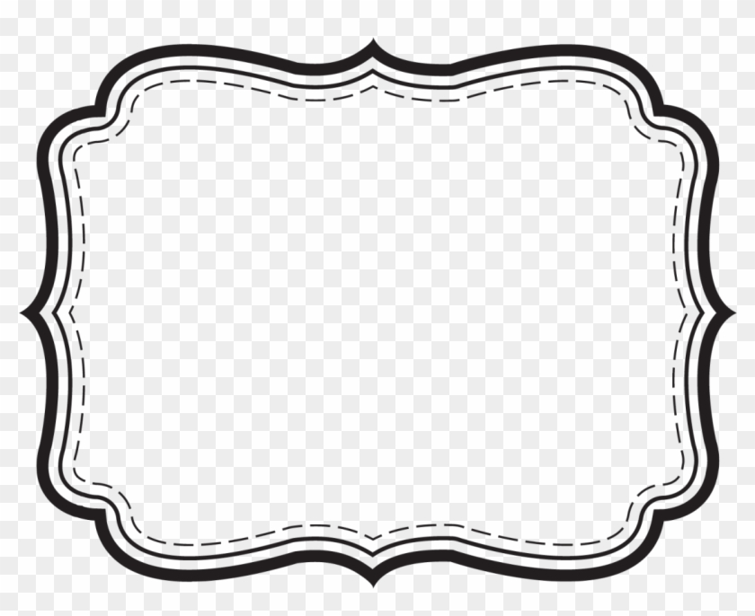 28 Collection Of Label Frame Clipart - White Label Png - Free ...