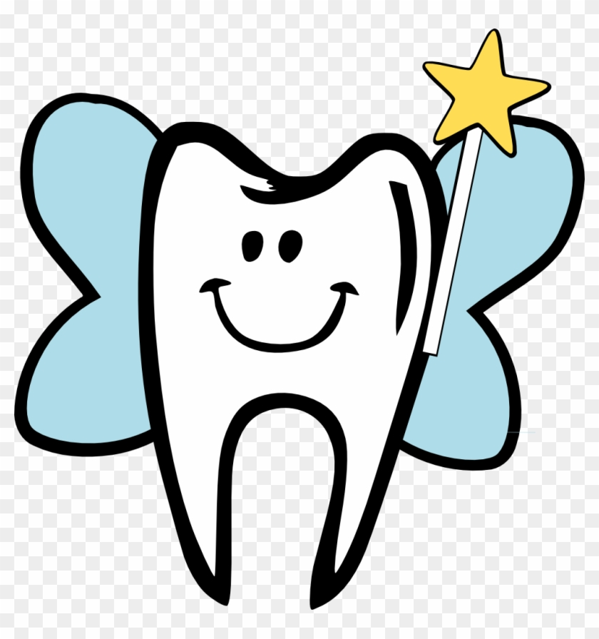 Toothfairy On Tooth Fairy Clip Art And Dental - Tooth Fairy Tooth #170641