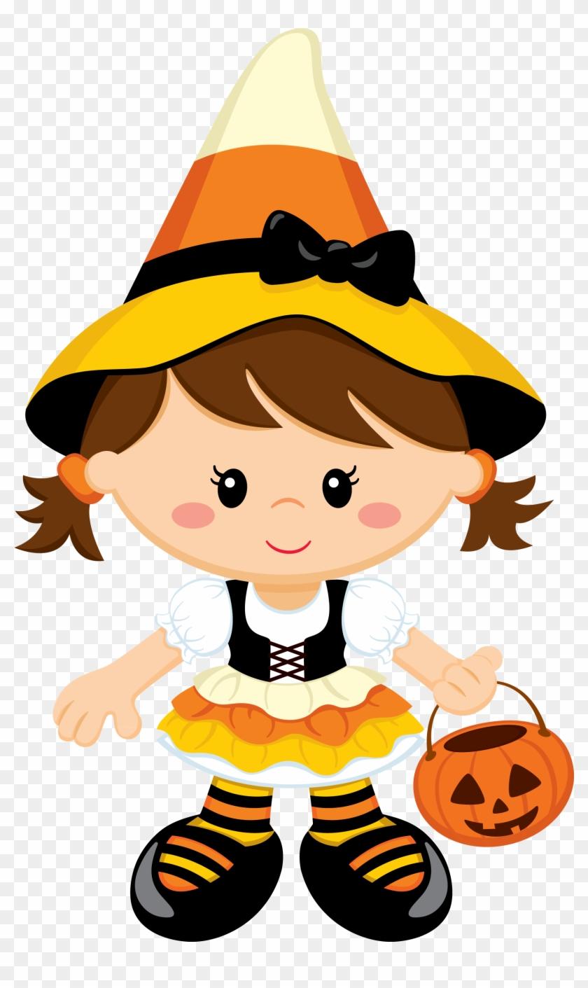 Brujita - Niedlicher Halloween-geburtstag Karte #170756