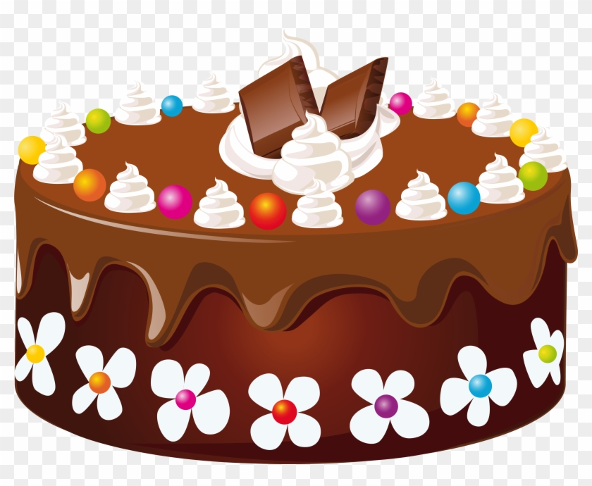 Chocolate Cake Png Happy Birthday Sister In Law Free Transparent