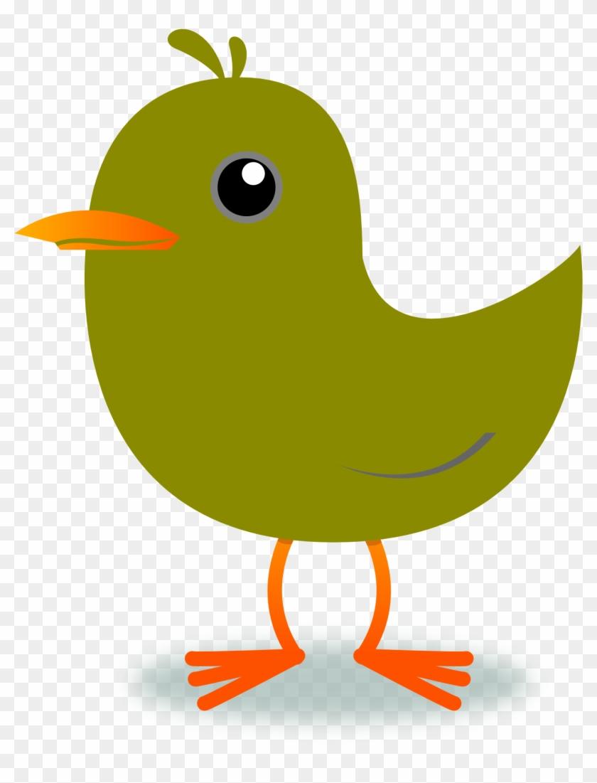 Twitter Bird Tweet Tweet 48 1969px 204 - 2 Little Dicky Birds Clipart #170868
