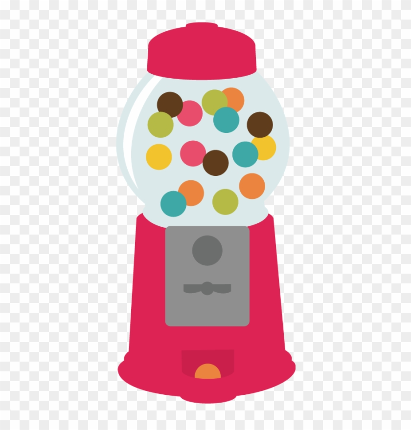 Gumball Clipart Candy Machine - Scalable Vector Graphics #170883