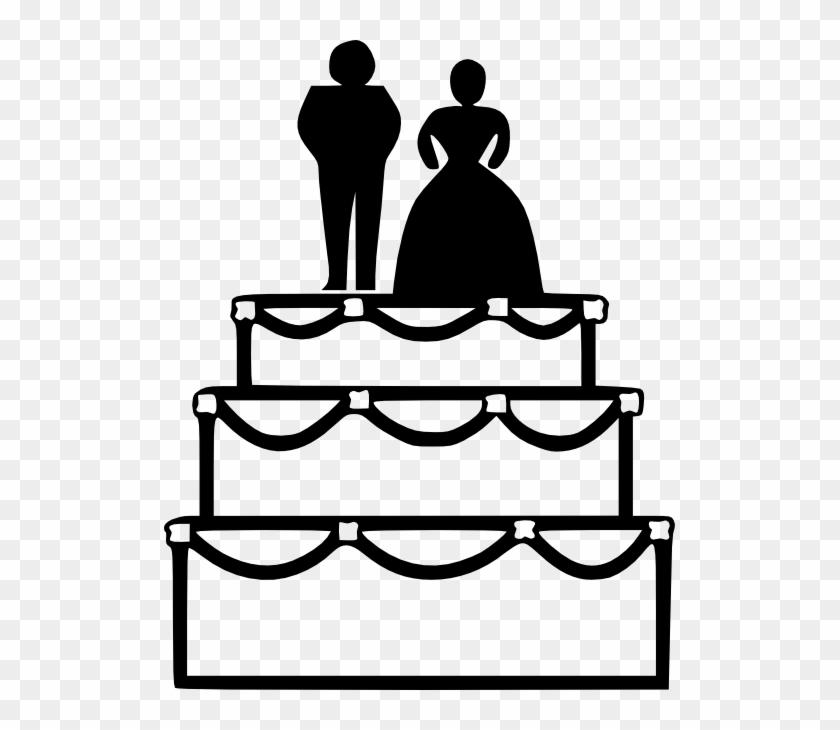 Cake Clip Art - Wedding Cake Clipart #170893