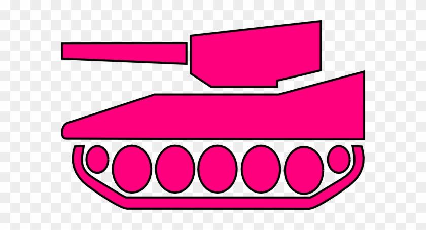 Hot Pink Tank Clip Art At Clkercom Vector Online Royalty - Clip Art #170895