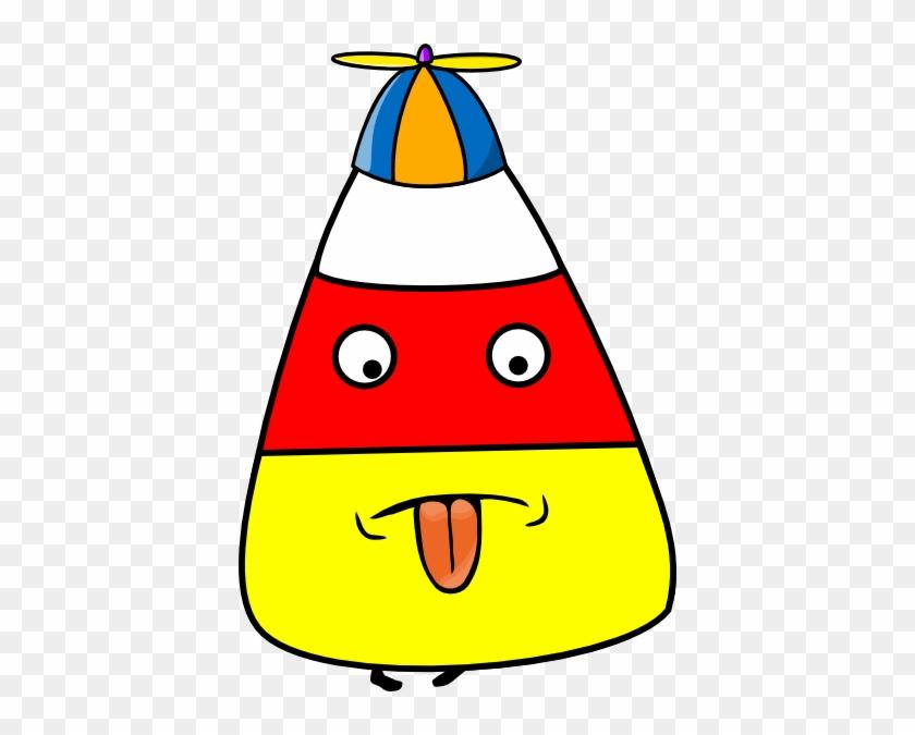 Candy Corn Kid Clip Art - Crazy Hat Clip Art #170905