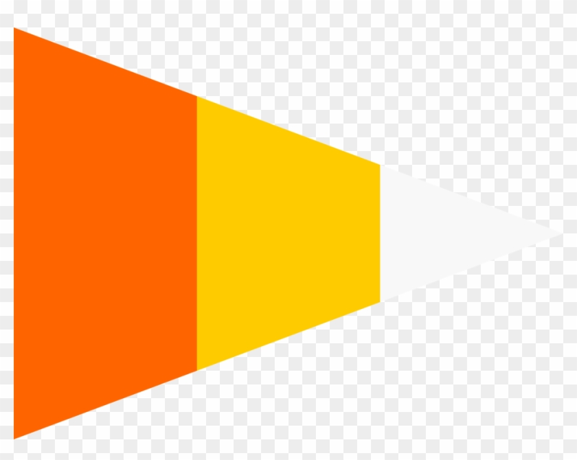 Mudpie Candy Corn Tapers - Flag #170922