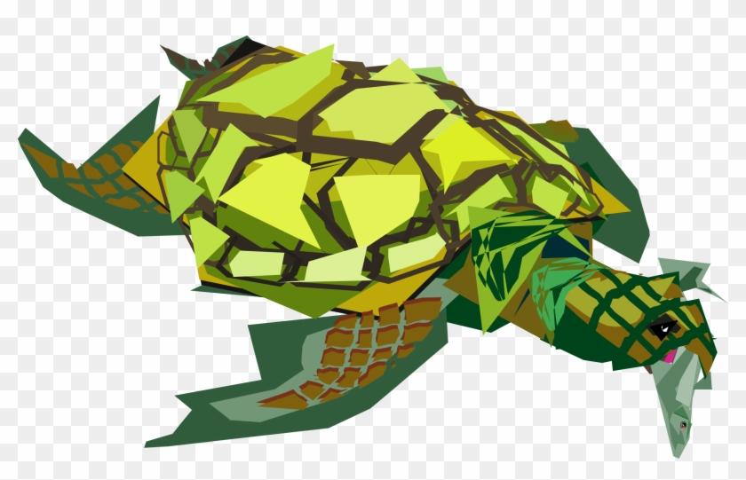 Sea Turtle 555px - Transparent Sea Turtle Clipart #170927