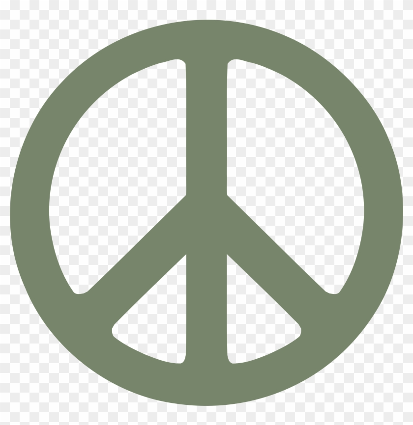 Camouflage Green Peace Symbol 1 Dweeb Peacesymbol - Describe Me In Three Words #170947